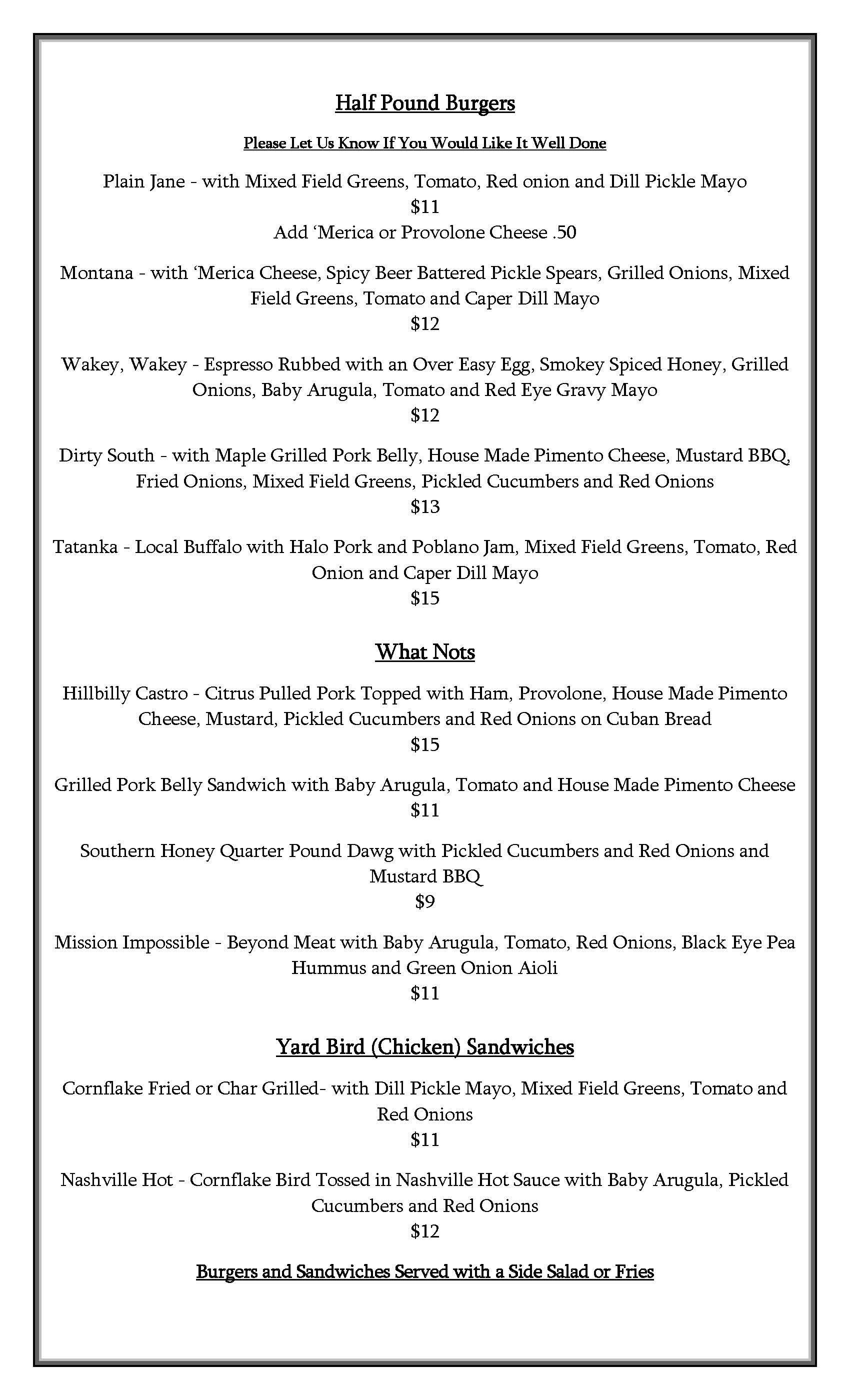 Munis Spring Summer 2020 Menu Updated June 2 Page 2