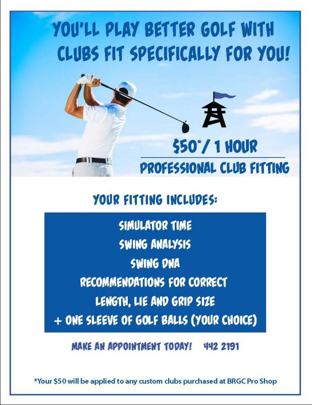 2018 Club Fitting Info